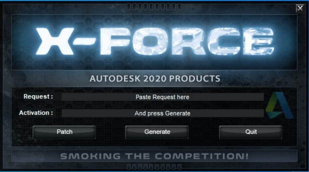 Autodesk XForce 2020 Download(Activation For All 2020 Products)