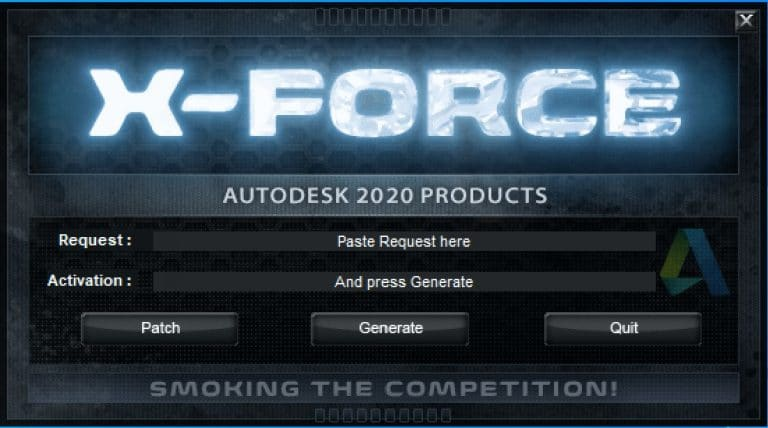 Autodesk XForce 2020 Download Activation For All 2020 Products For Free