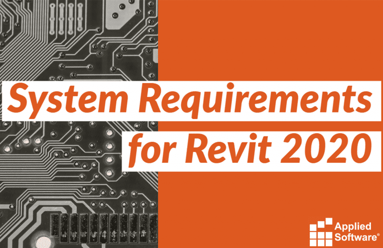 System requirements for Revit 2020 Best Performance