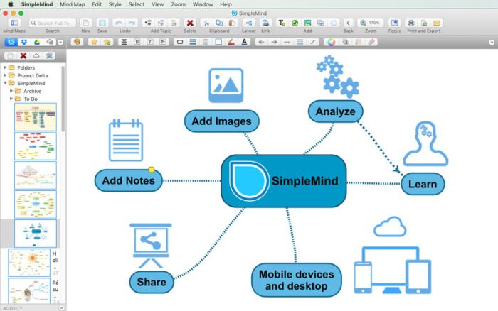 SimpleMind Pro 2021 Free Download